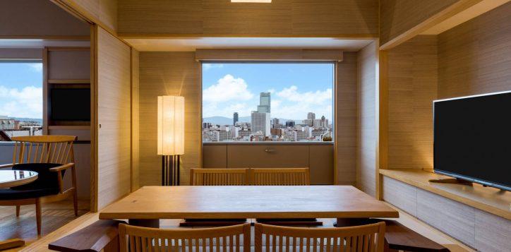 swissotel-nankai-osaka_waon-japanese-suite_living-area