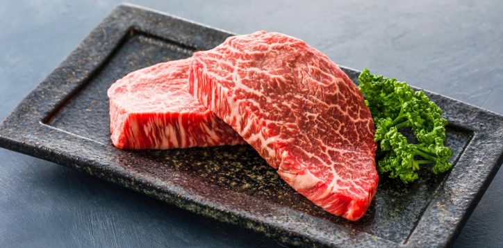 minami-matsutake-mushroom-tilefish-and-a5-rank-wagyu-beef-dinner