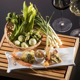 shun-wild-vegetable-kushiage-course
