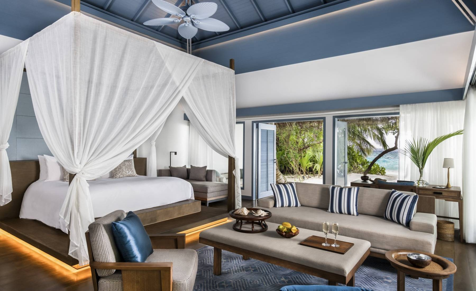 Raffles Maldives Meradhoo - Beach Villa with Pool
