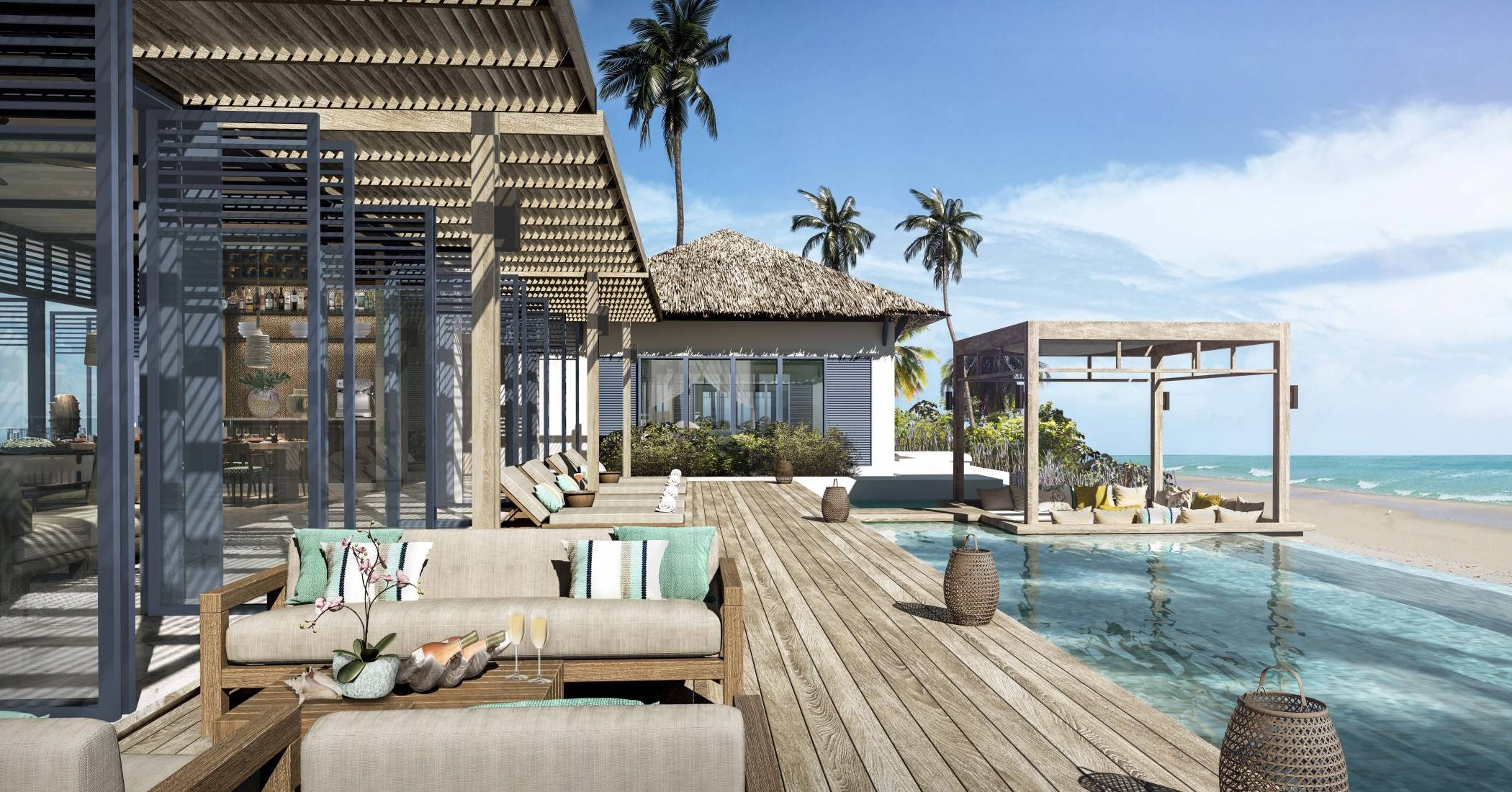 Raffles Maldives Meradhoo - Raffles Royal Residence