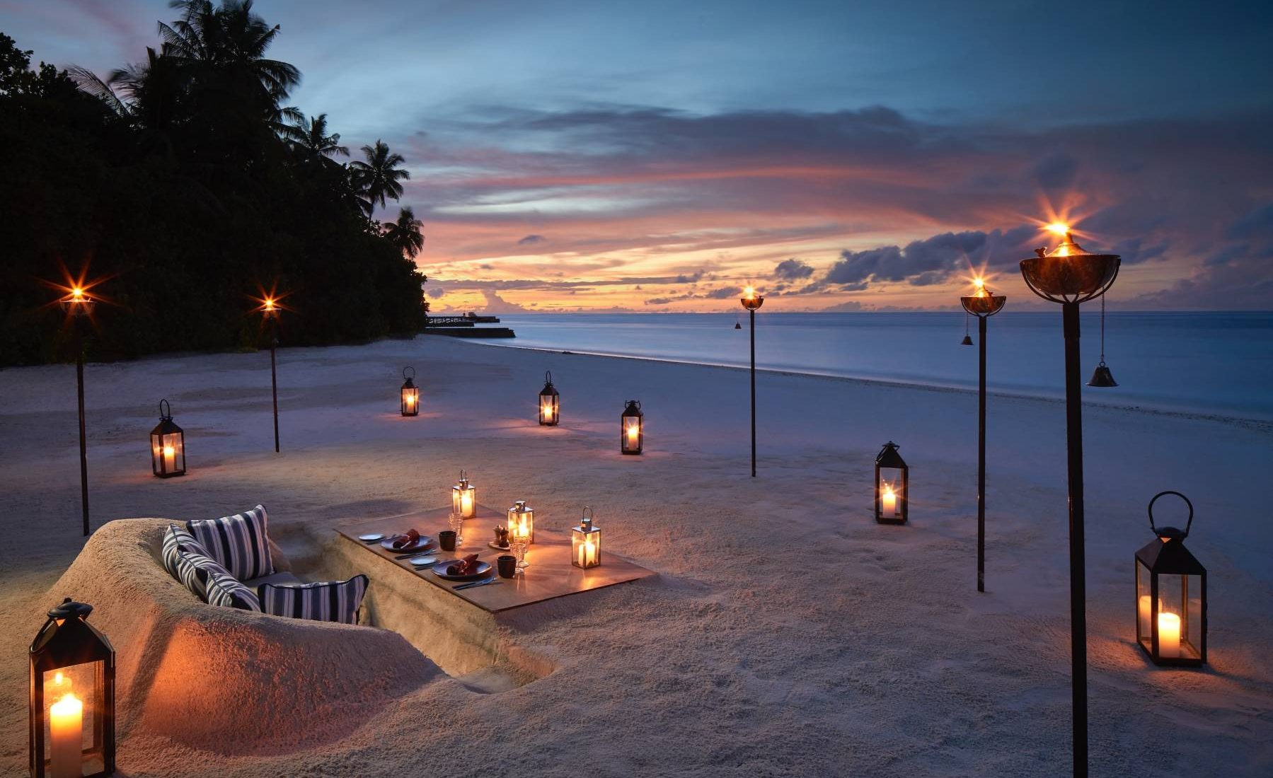 Raffles Maldives Meradhoo - The Firepit