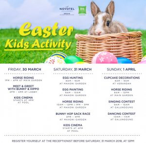 Easter brunch kids activity