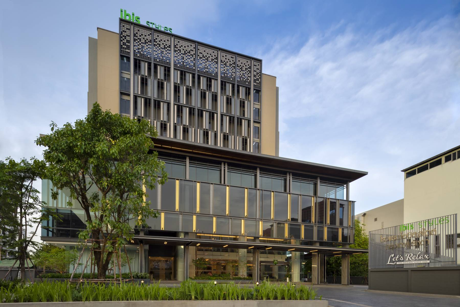 Stay in ibis Bangkok hotel