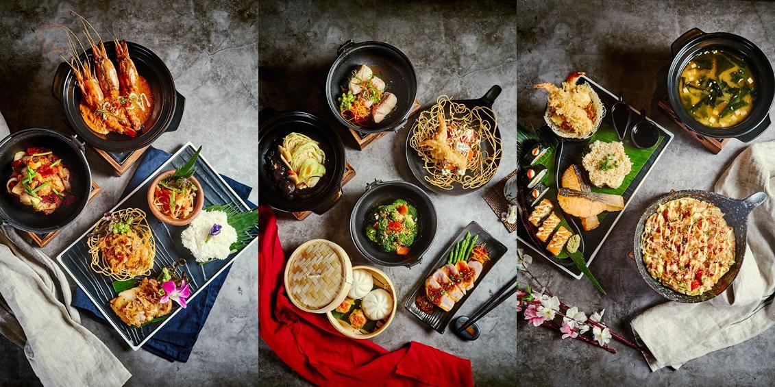 Asian A La Carte Buffet Lunch
