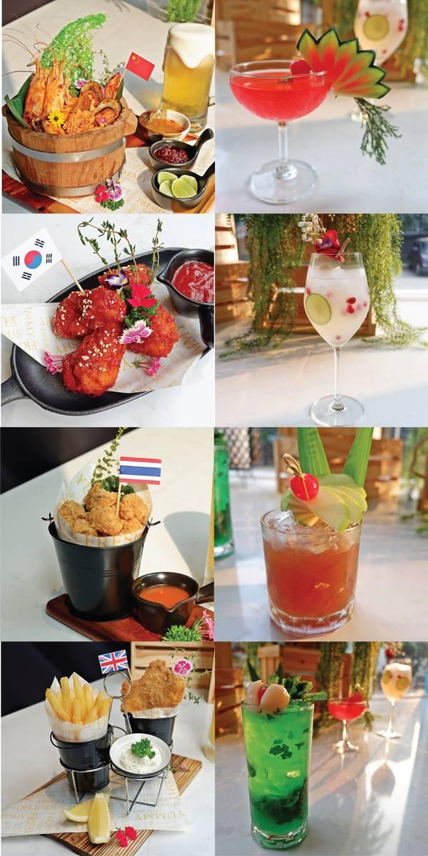 cocktails pairing