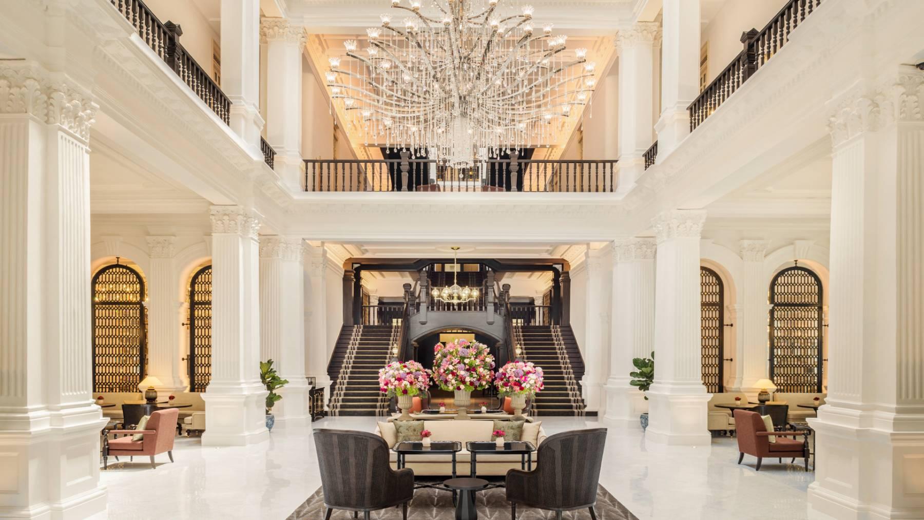 Raffles Singapore - The Grand Lobby