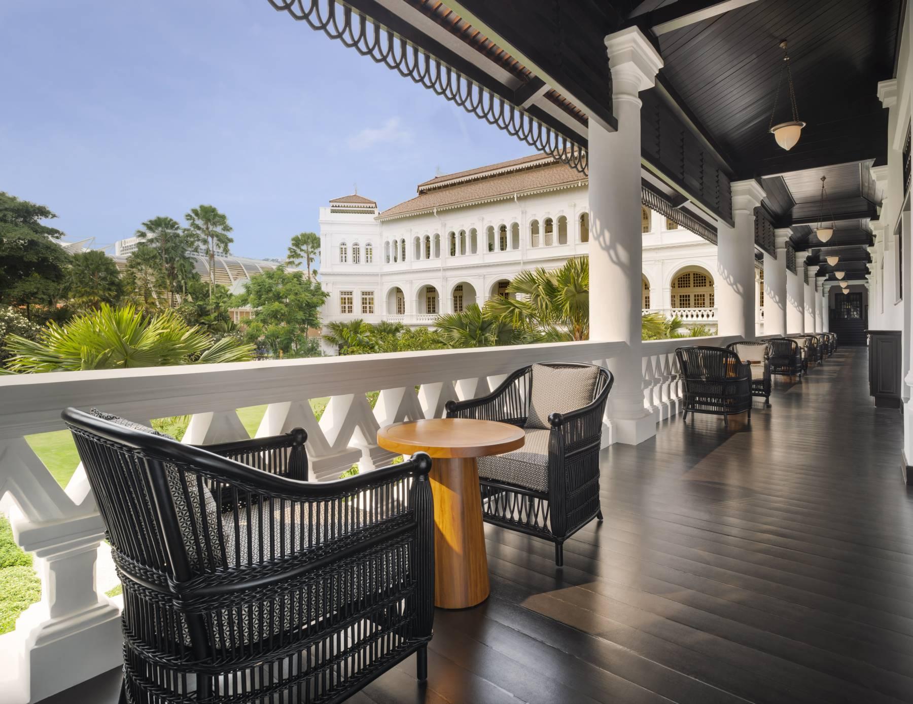 raffles singapore  all suite hotel  palm court suites