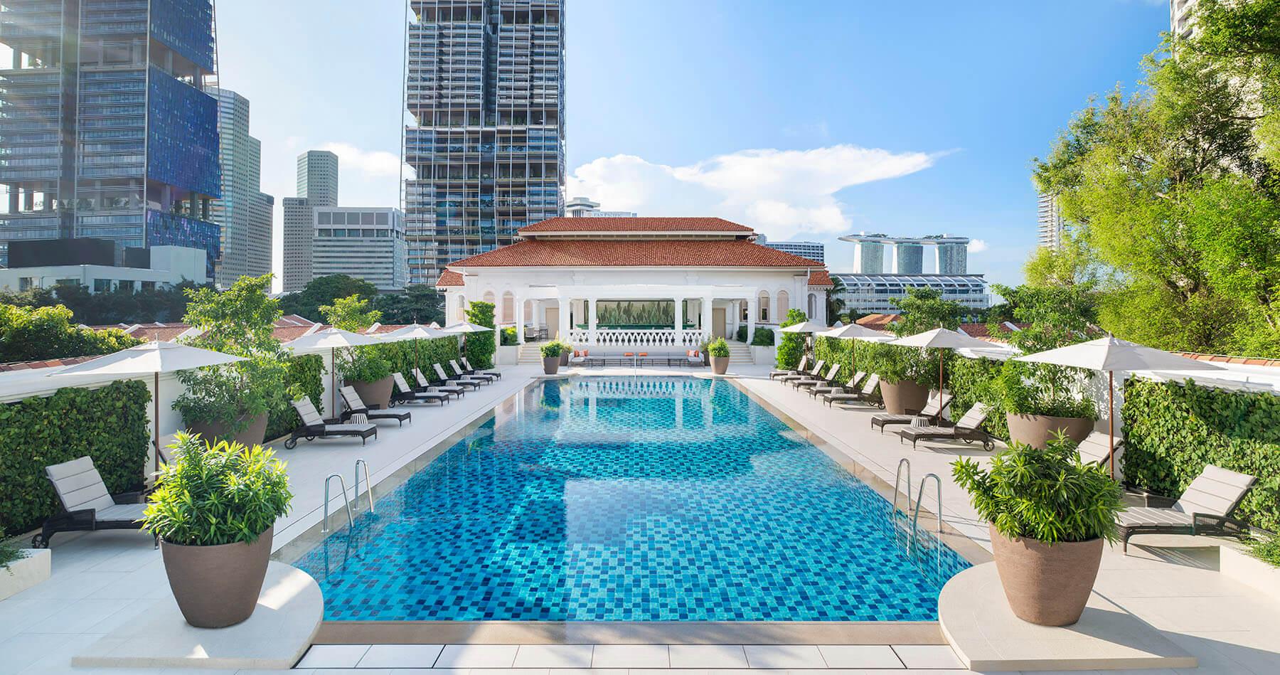Raffles Singapore - Swimming Pool