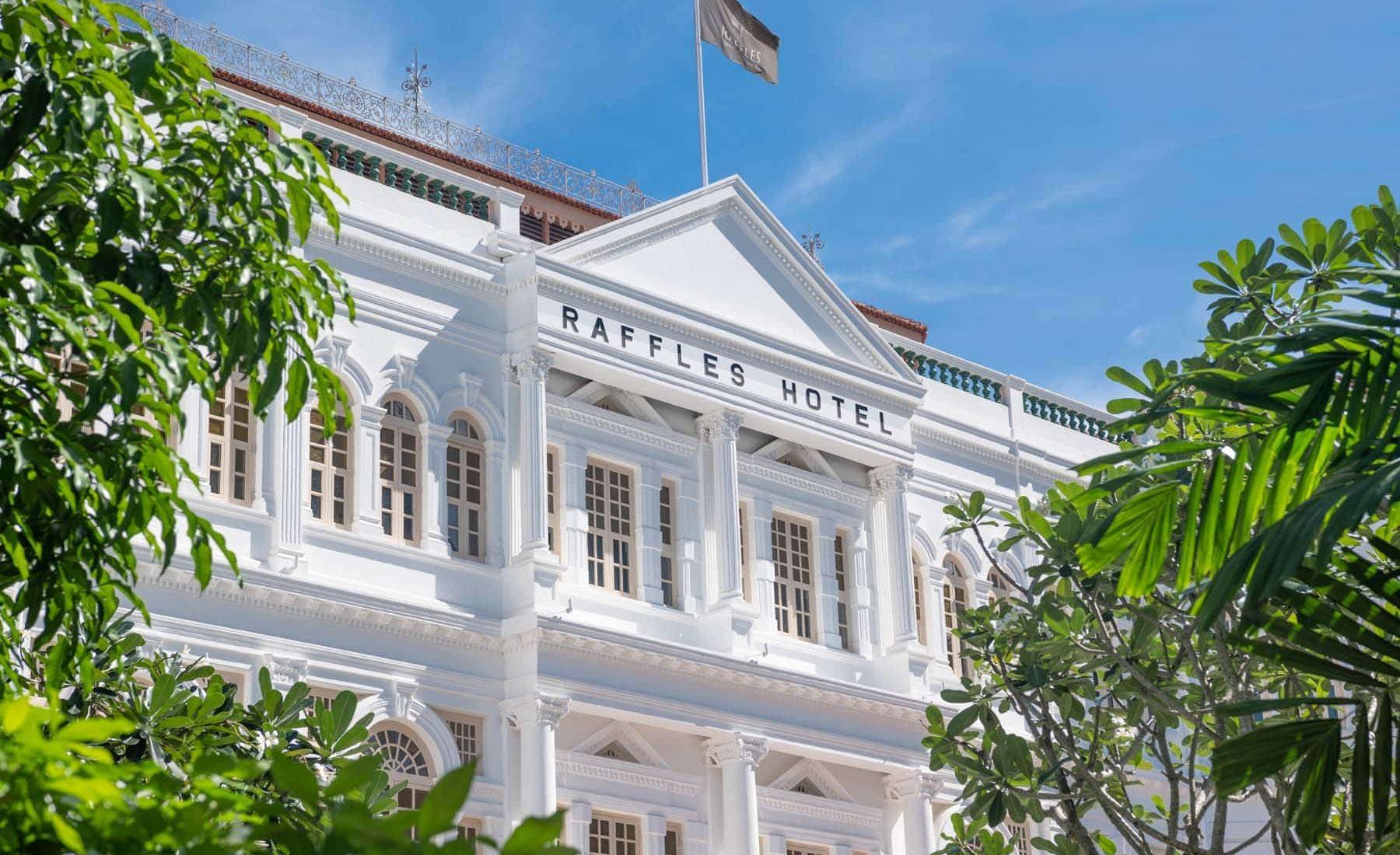 Raffles Singapore - About Hotel