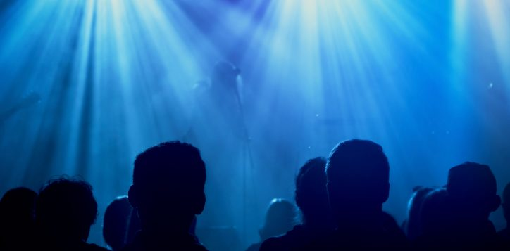 rock-band-silhouettes-on-stage-at-concert