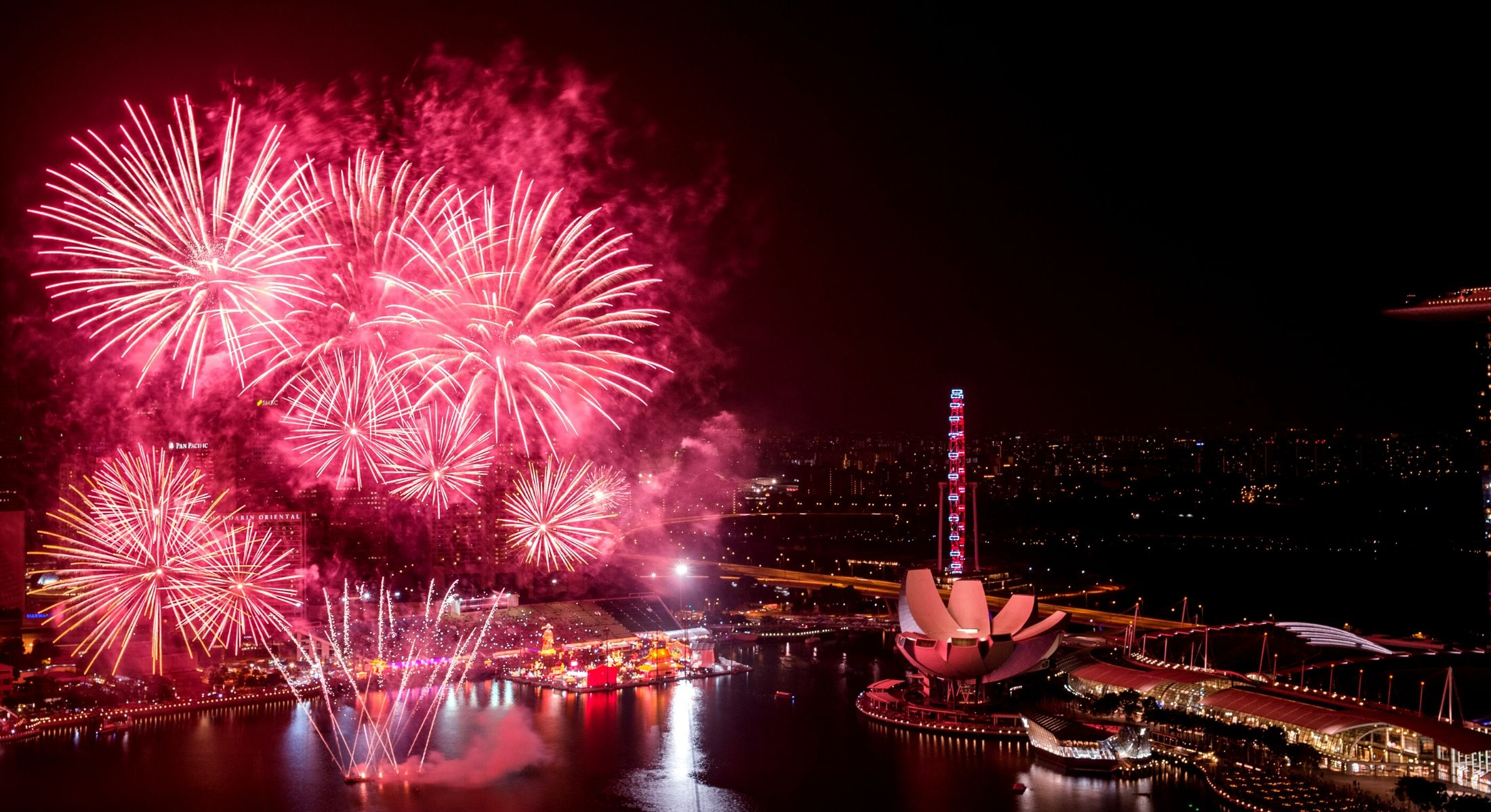 Singapore Chinese New Year Fireworks