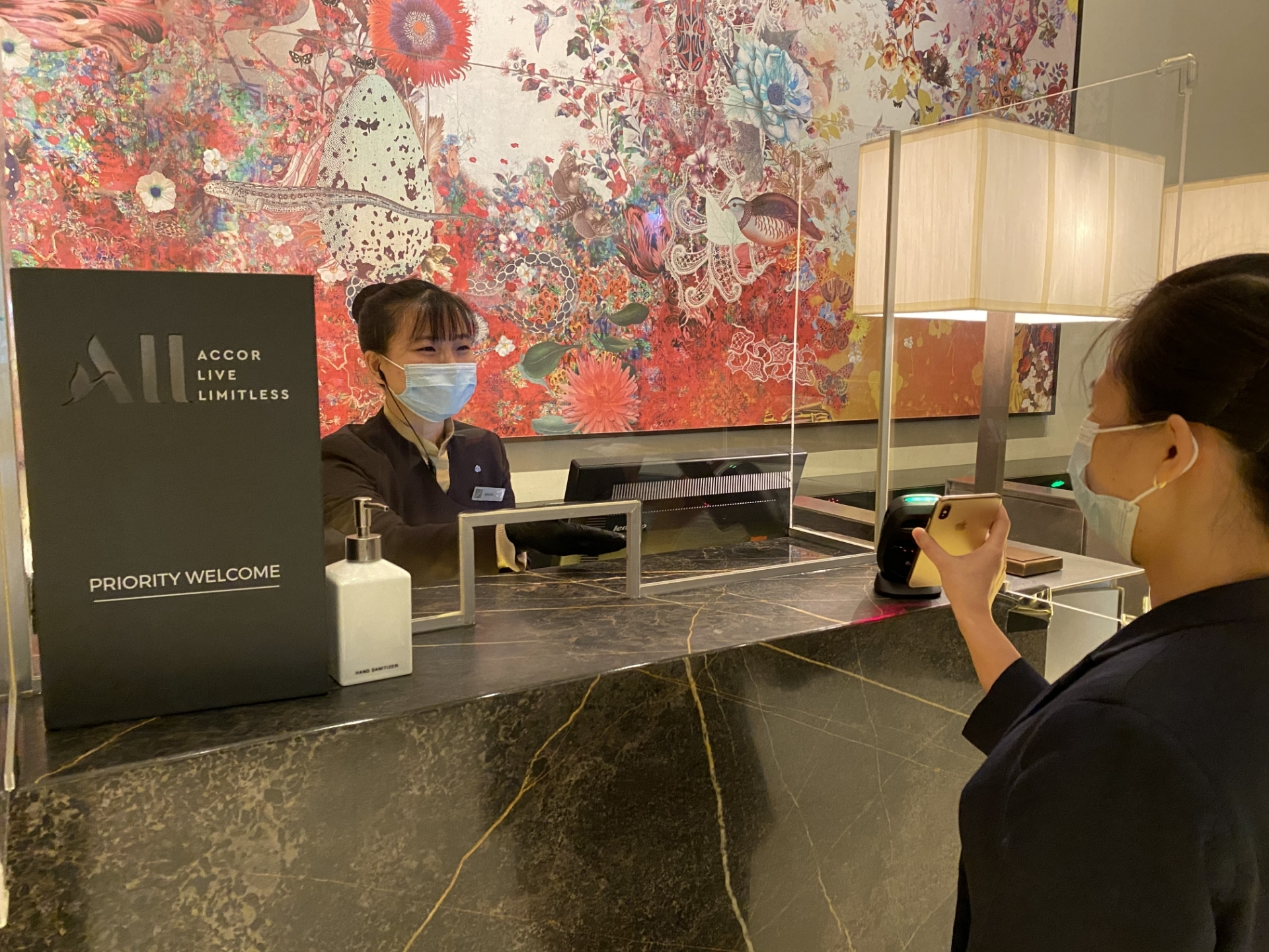 App-Free Contactless Check-In and Check-Out at Fairmont Singapore