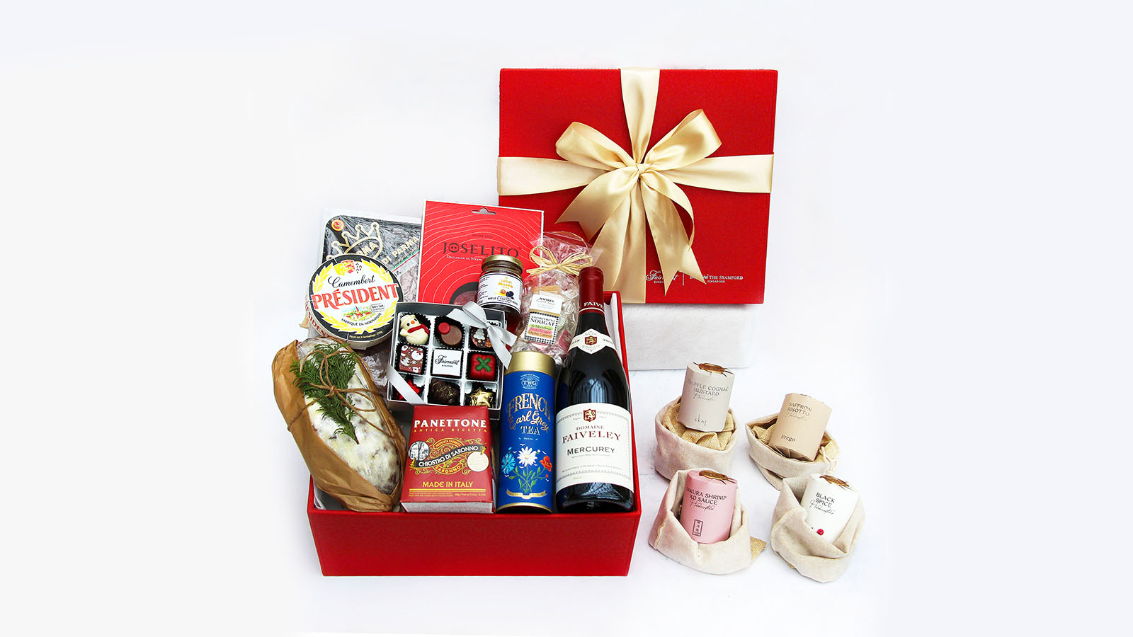Christmas Hampers 2020 Customised Gifts Fairmont Singapore