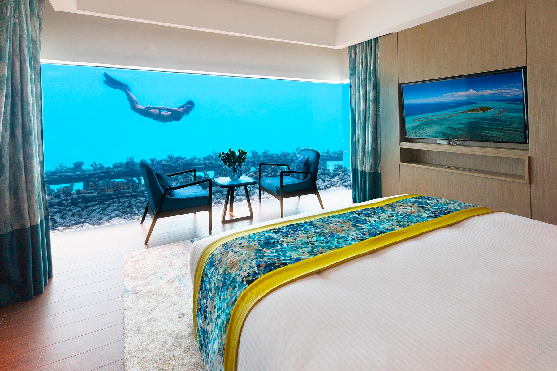 Underwater bedroom Maldives | Pullman Maldives