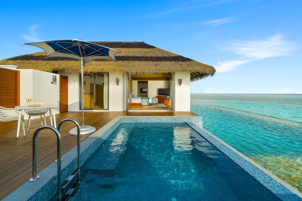 Aqua villa deck | Pullman Maldives