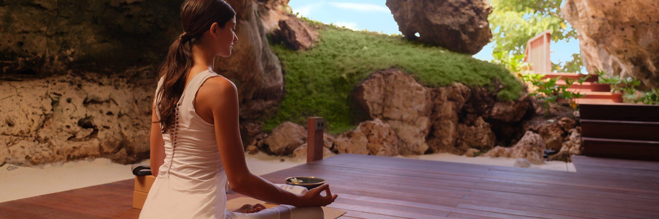 Raffles Bali - Morning Meditation at The Secret Cave