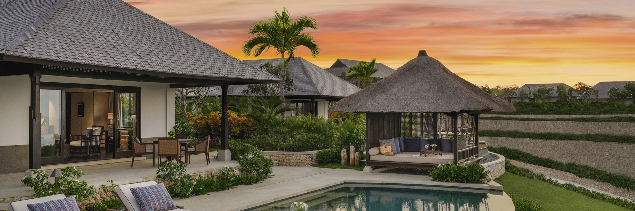 Raffles Bali - Raffles Bali, an intimate oasis of Emotional Wellbeing, First Raffles for Indonesia's famous tropical paradise