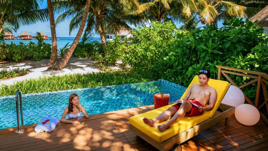Beach Pool Villa at Mercure Maldives Kooddoo