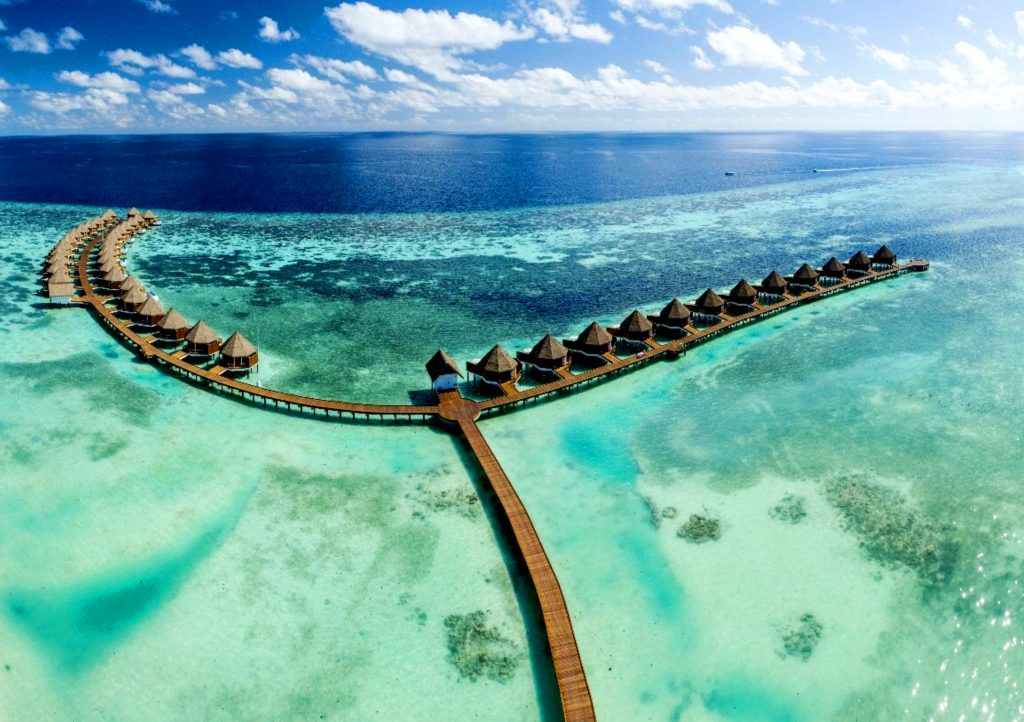 Over water villas - Mercure Maldives Kooddoo