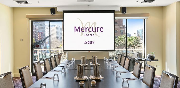 museum-boardroom-with-mercure-logo
