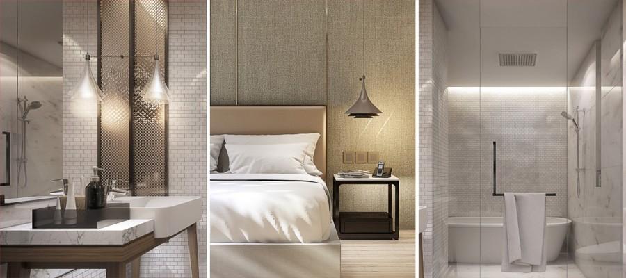 ห้องดีลักซ์ โรงแรมโนโวเทลสวีท กรุงเทพ สุขุมวิท 34
