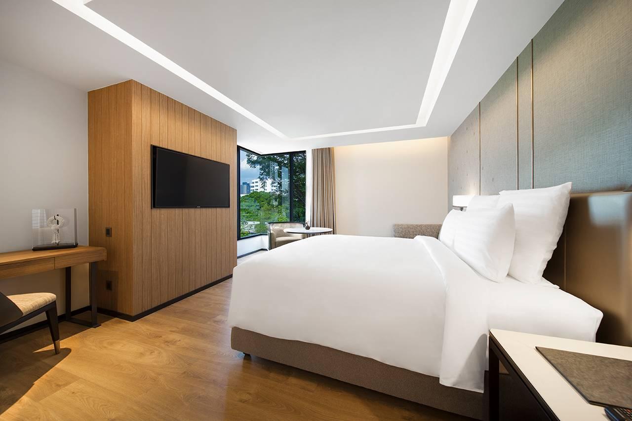曼谷通罗酒店式公寓客房
