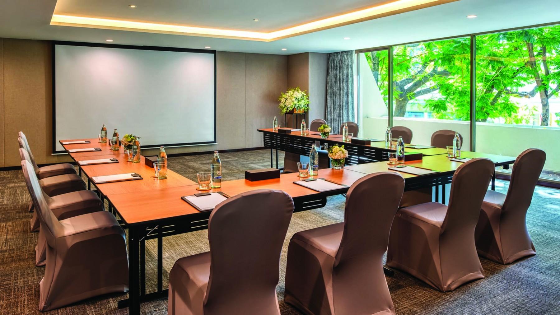 瑞享曼谷 BDMS 健康度假村會議室