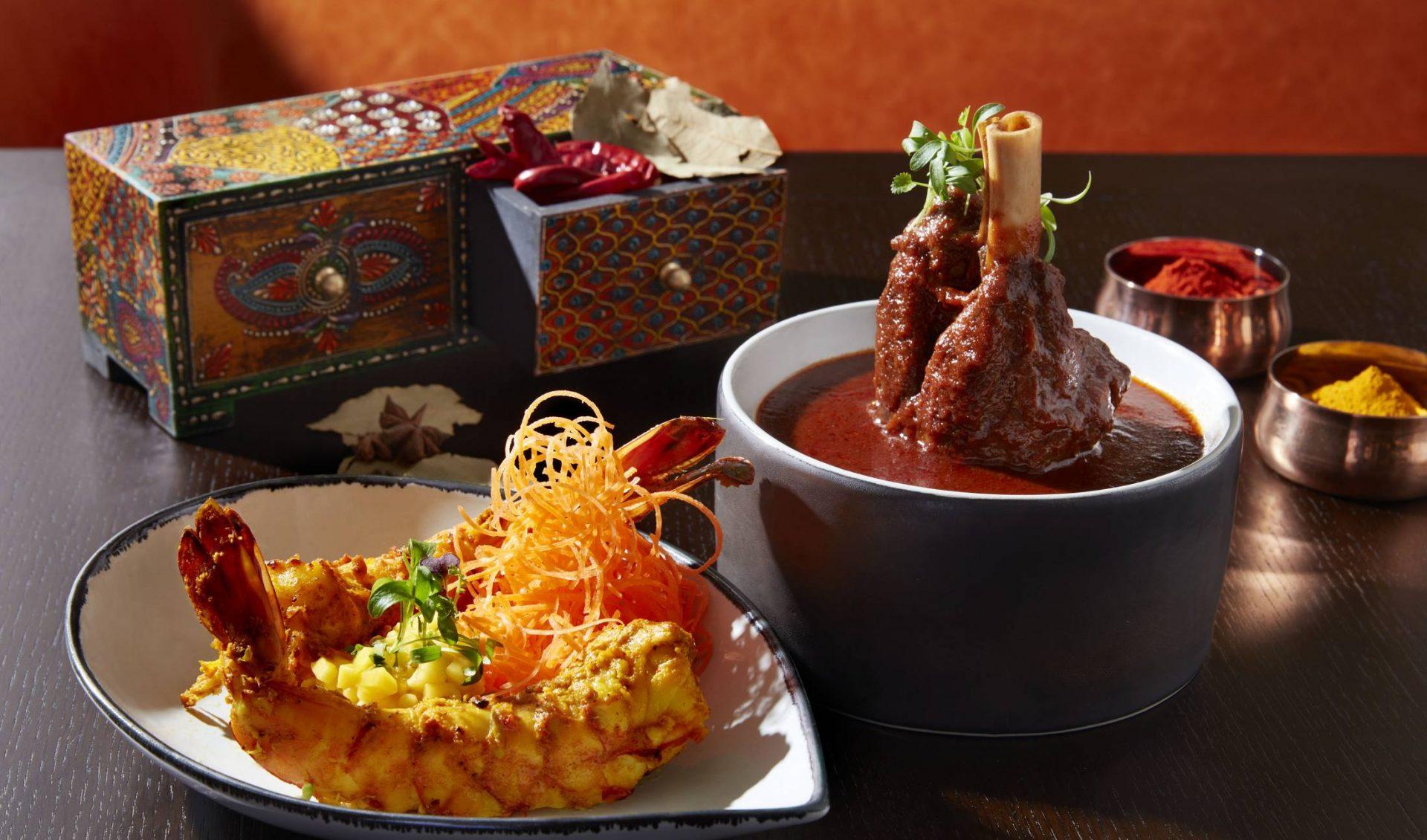 Jhinga Kebab & Nalli Roganjosh