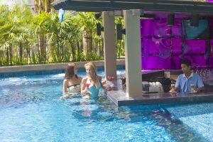 swimming pool bar at kata