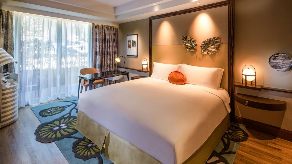 Luxury Room Sofitel Singapore Sentosa Resort Amp Spa