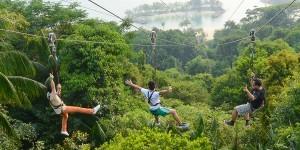Sentosa Megazip Adventure Park