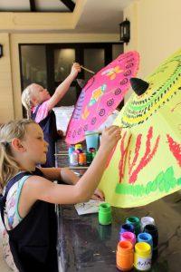 Batik Painting for kids-sofitel-krabi