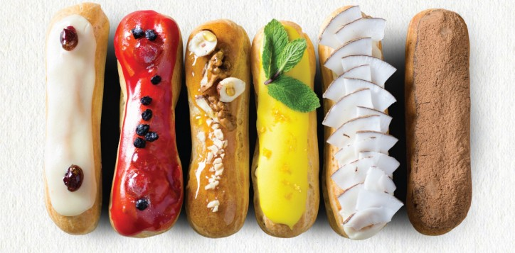 special-offer-essence-weekend-afternoon-tea-buffet-featuring-eclairs