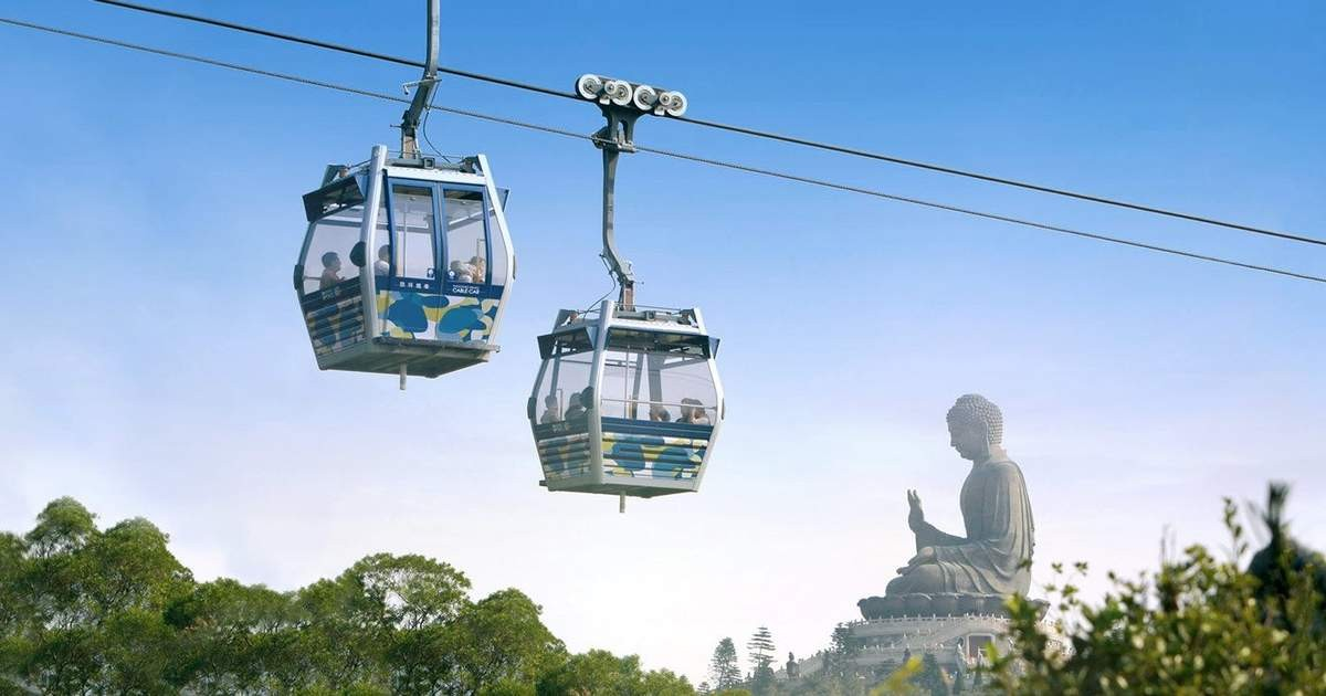Ngong Ping 360 Cable Car︱Novotel Citygate Hong Kong