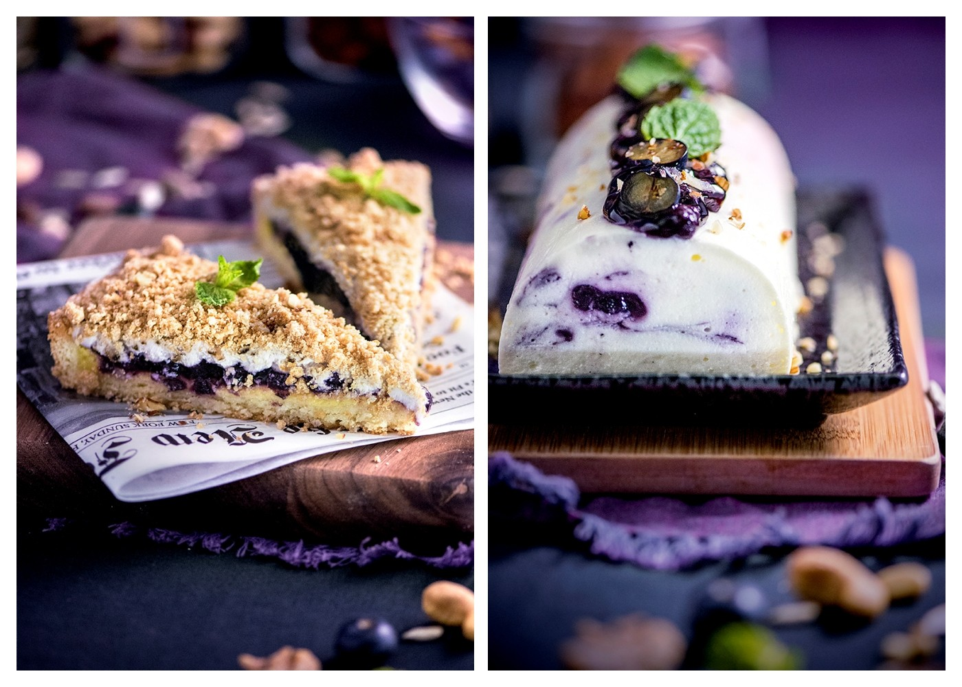 Nuts & Blueberry Weekend Afternoon Tea Buffet - Desserts