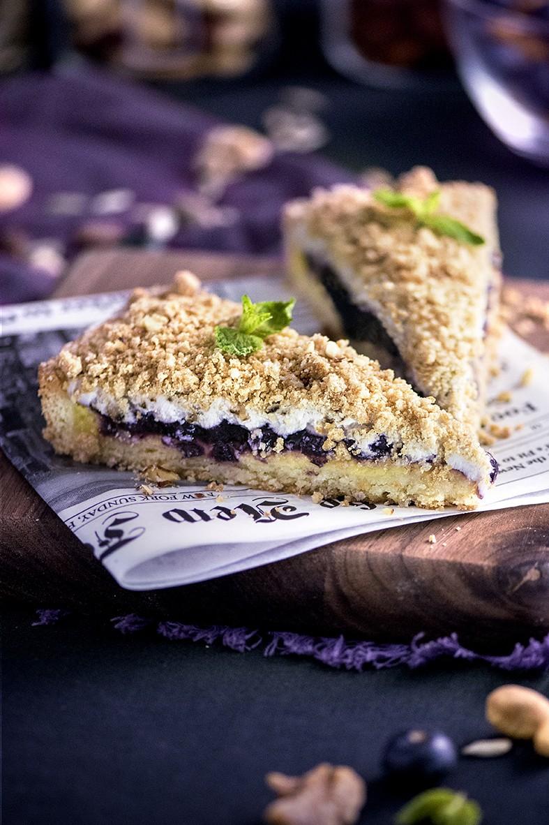 Nuts & Blueberry Weekend Afternoon Tea Buffet - Blueberry Cream Pie