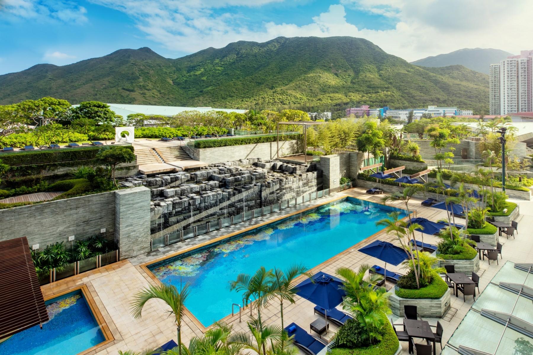 香港諾富特東薈城酒店 泳池