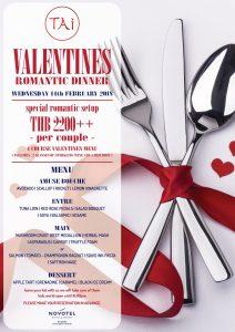 Valentine's day dinner | Novotel Phuket Surin