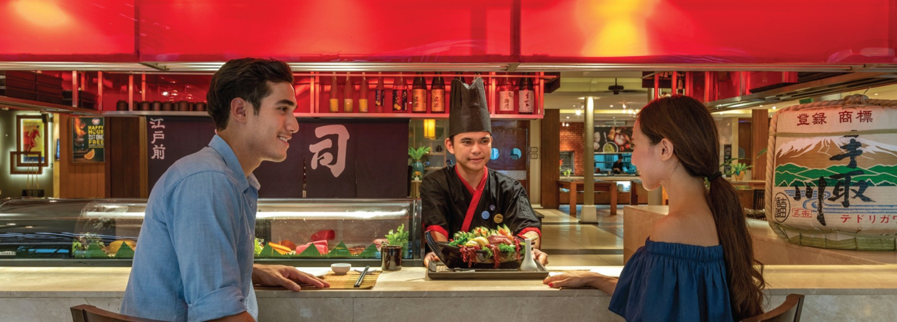 Sushi Bar at Surin Beach | Novotel Phuket Surin Beach Resort