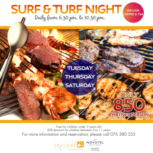 Surf And Turf Buffet