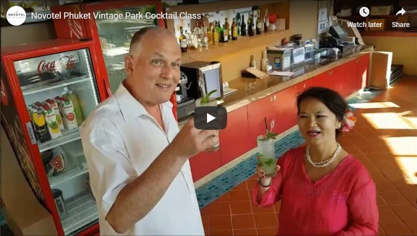 Cocktail Class Activities At Novotel Phuket Vintage Park