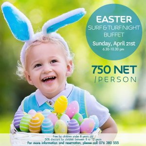 Easter Surf & Turf Night Buffet