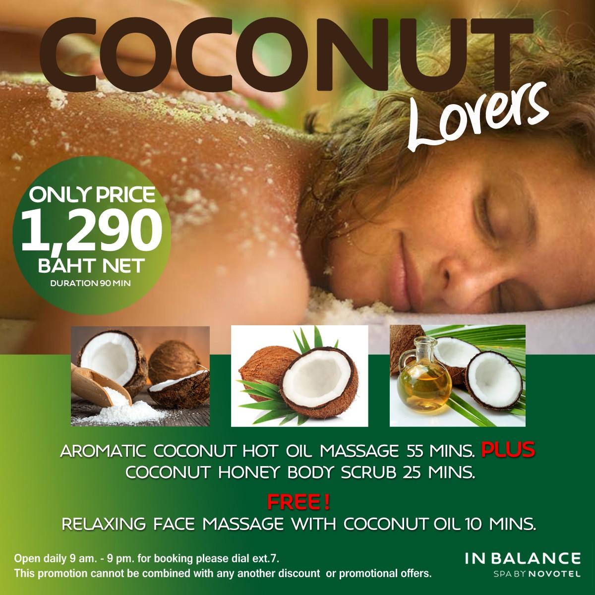 Massage Coconut Lovers