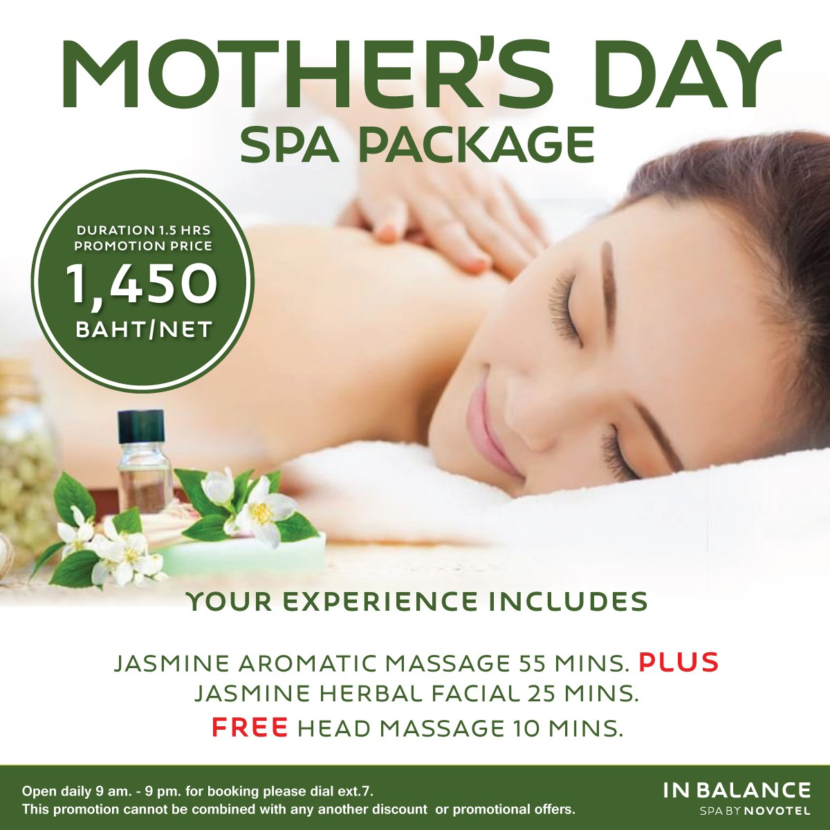 Mother's Day Spa Package