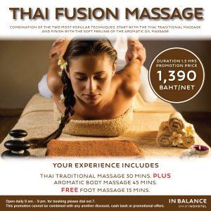 Novotel Phuket Vintage Park InBalance Spa Thai Fusion Massage