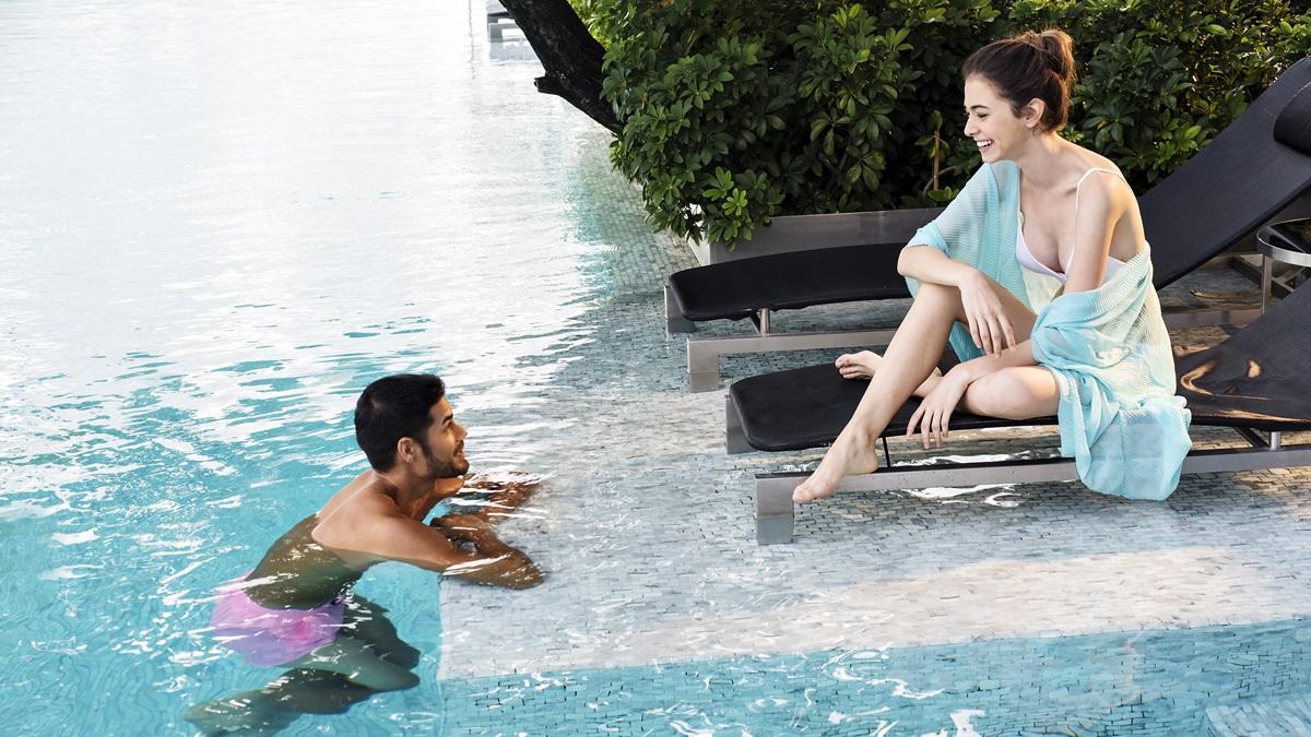 hotel swimming pool