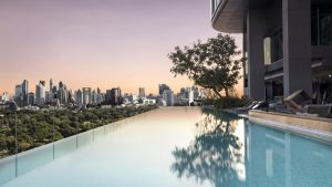 Infinity Swimming Pool - SO Sofitel Bangkok