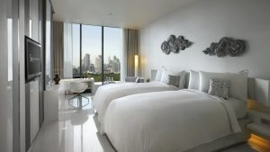 SO Comfy Metal Element Twin Room Park View Bangkok - SO Sofitel Bangkok