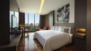 SO Comfy Wood Element Room Park View Bangkok - SO Sofitel Bangkok